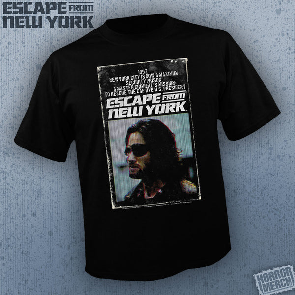 Escape From New York - Snake VHS Cover [Mens Shirt]