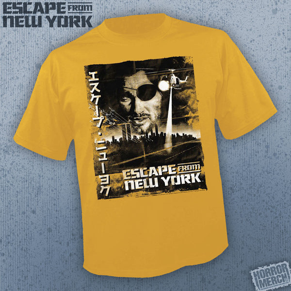Escape From New York - Poster (Gold) [Mens Shirt] - Pre-Order