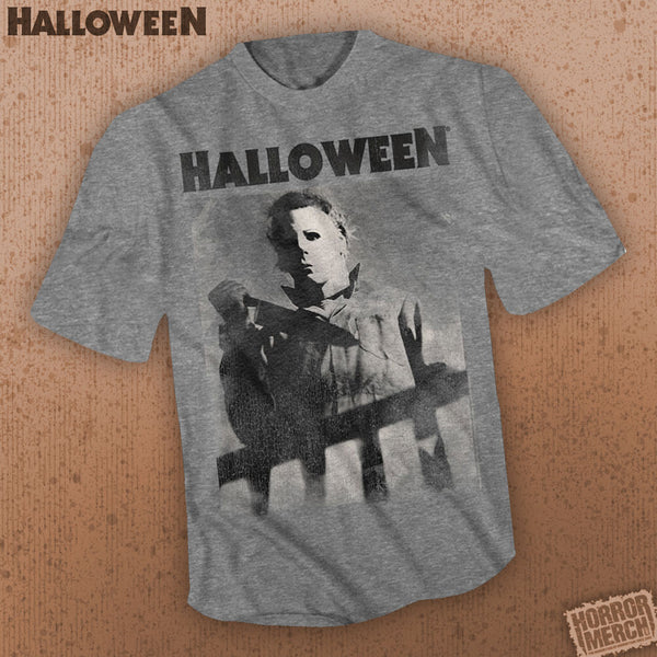 Halloween - Stalking (Gray) [Mens Shirt] - Pre-Order