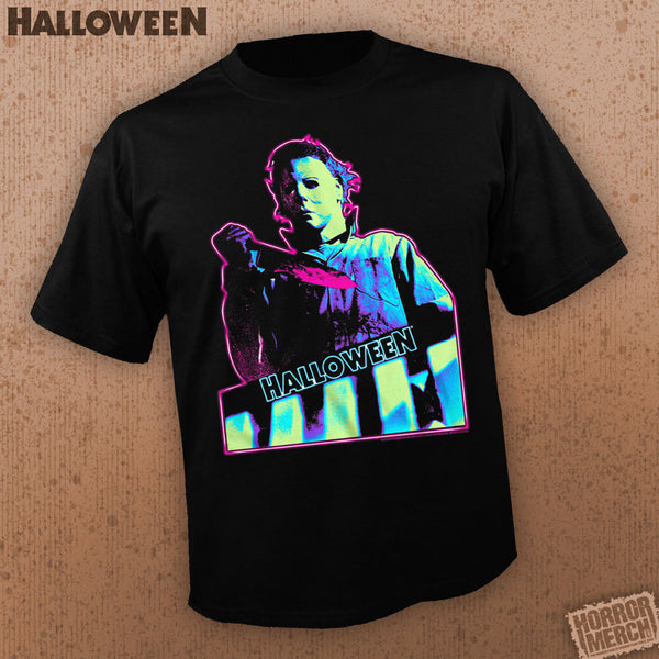 Halloween - Knife (Neon) [Mens Shirt] - Pre-Order