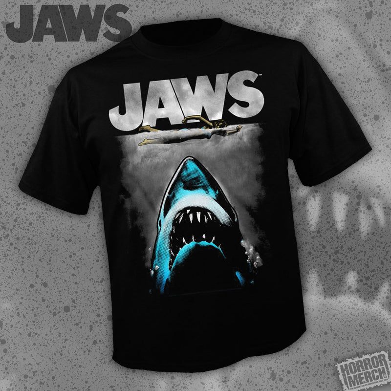 Jaws - Poster (Colorized) [Mens Shirt]