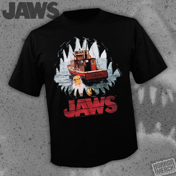 Jaws - Attack [Mens Shirt] - Pre-Order