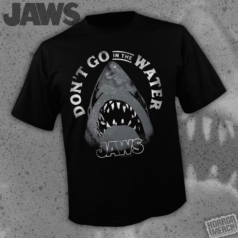 Jaws - Dont Go In The Water [Mens Shirt] - Pre-Order