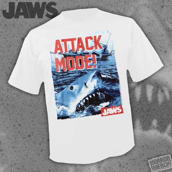 Jaws - Attack Mode [Mens Shirt] - Pre-Order