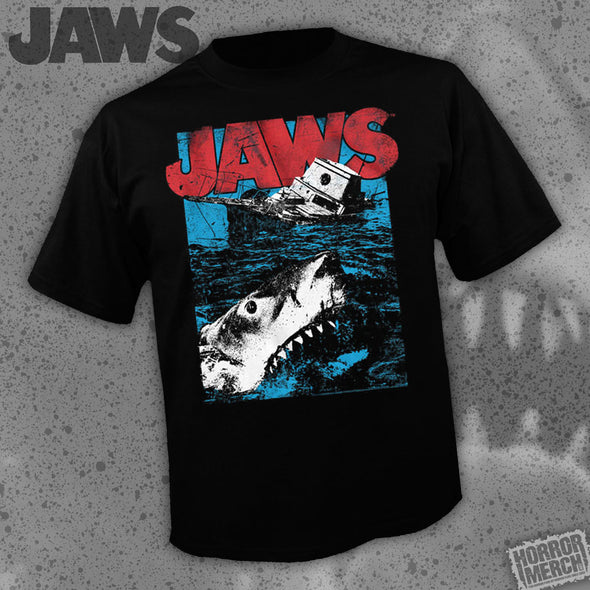Jaws - Sinking Ship [Guys Shirt]