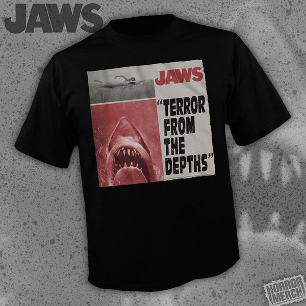 Jaws - From The Depths [Mens Shirt] - Pre-Order