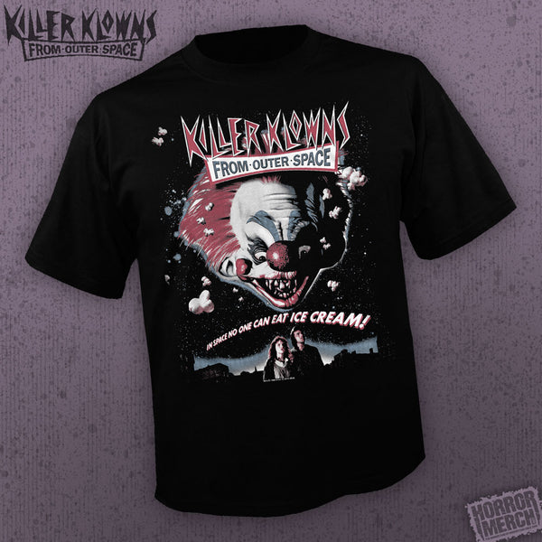 Killer Klowns From Outer Space - Poster [Mens Shirt] - Pre-Order