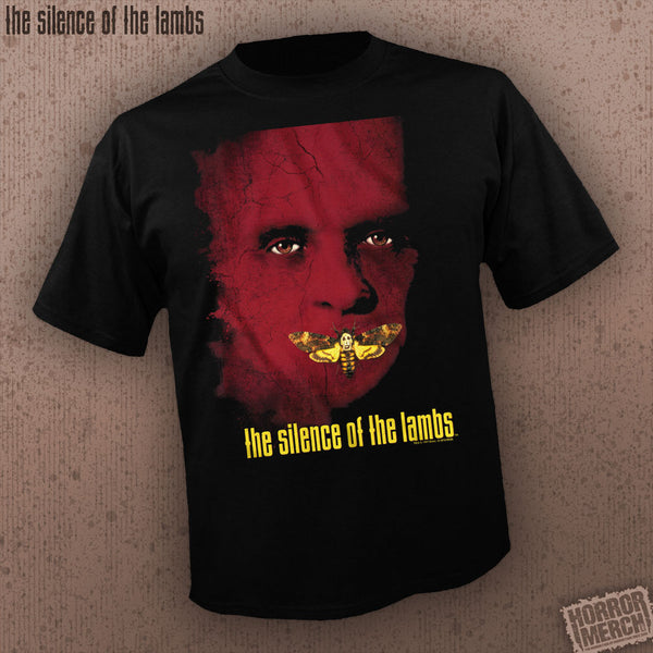 Silence Of The Lambs - Poster [Mens Shirt]