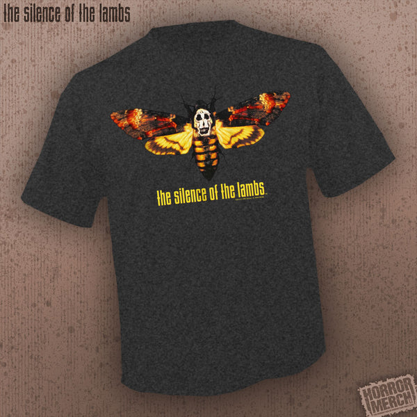 Silence Of The Lambs - Moth (Black Heather) [Mens Shirt]