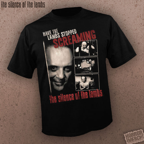Silence Of The Lambs - Have The Lambs Stopped Screaming [Mens Shirt]