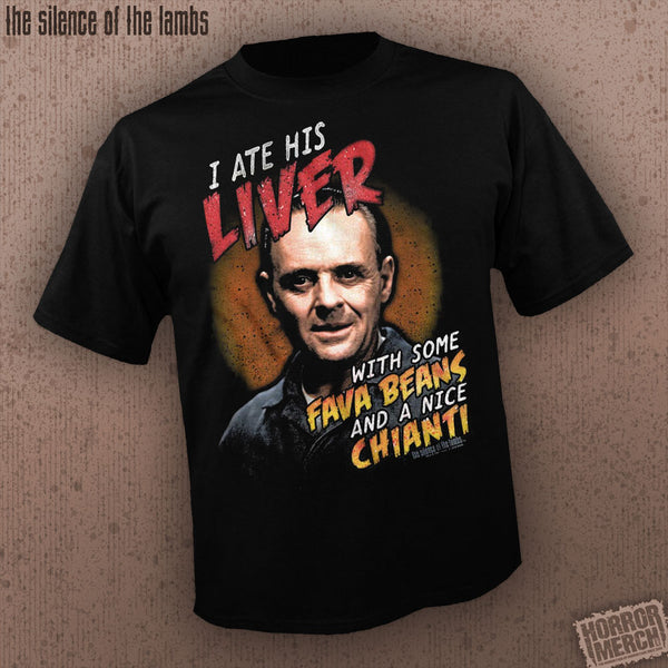 Silence Of The Lambs - Ate His Liver [Mens Shirt] - Pre-Order