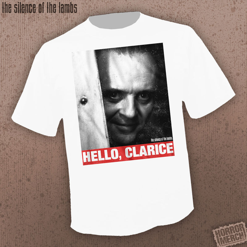 Silence Of The Lambs - Hello Clarie (White) [Mens Shirt] - Pre-Order