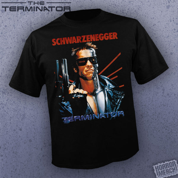 Terminator - Split Logo [Mens Shirt]