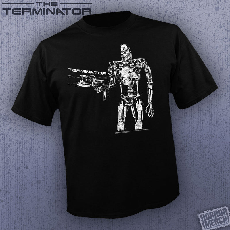 Terminator - Endoskeleton Gun [Mens Shirt]