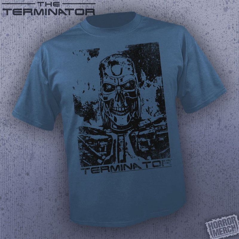 Terminator - Endoskeleton (Slate) [Mens Shirt]