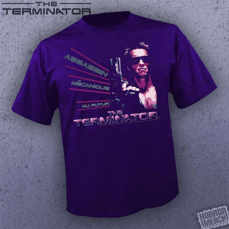 Terminator - Assassin (Purple) [Mens Shirt] - Pre-Order