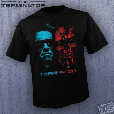 Terminator - Red And Blue [Guys Shirt]