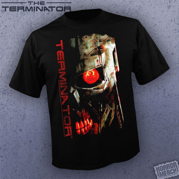 Terminator - Endoskeleton Logo Closeup [Mens Shirt]