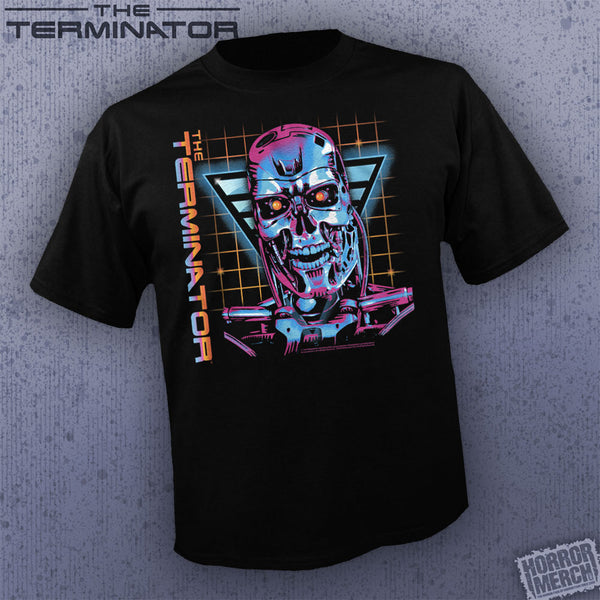Terminator - Endoskeleton Grid [Mens Shirt]