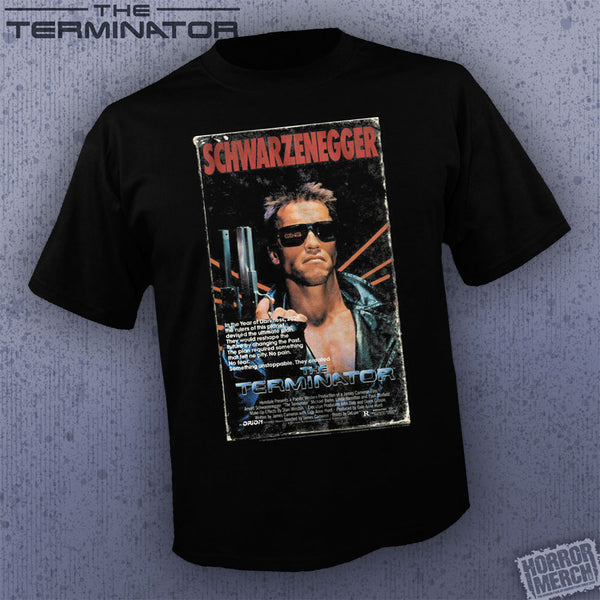 Terminator - VHS Cover [Mens Shirt]