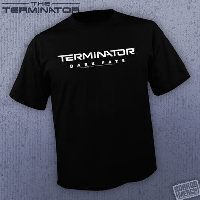 Terminator - Dark Fate (BW Logo) [Guys Shirt]