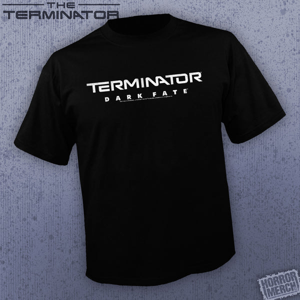 Terminator - Dark Fate (BW Logo) [Mens Shirt]