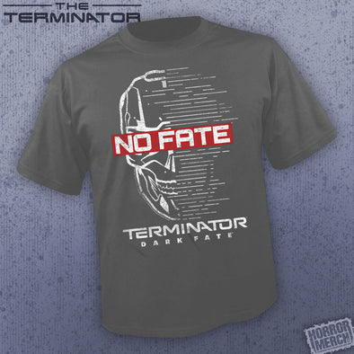 Terminator - No Fate (Charcoal) [Guys Shirt]