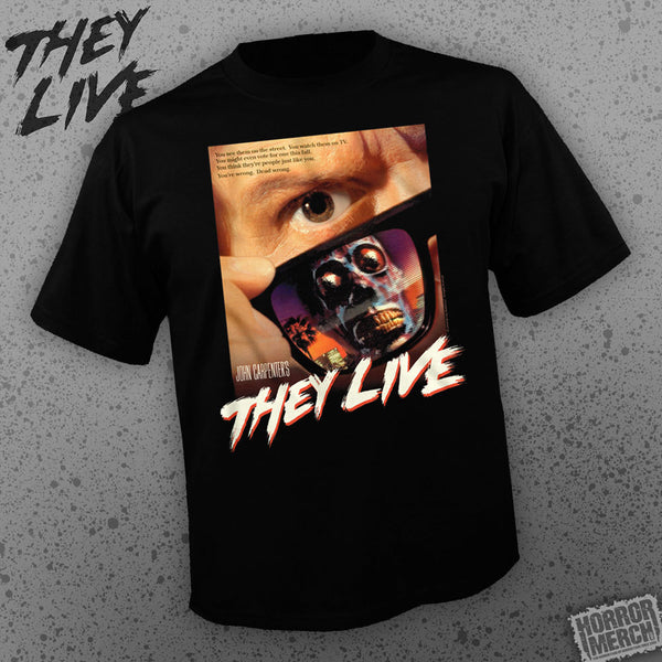 They Live - Poster [Mens Shirt] - Pre-Order