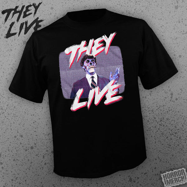 They Live - TV [Mens Shirt] - Pre-Order