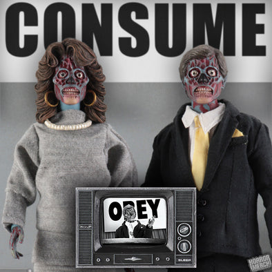 They Live - Alien 2 Pack (Clothed) [Figure] - Pre-Order