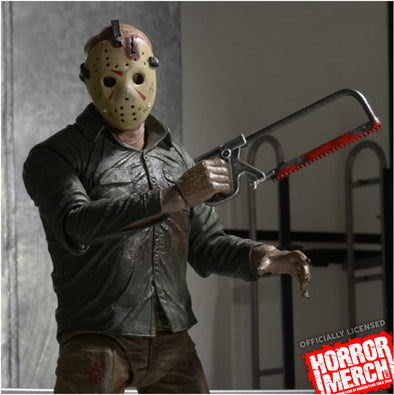 Halloween Costume Jason Friday 13th.Friday The 13th Ultimate Part 4 Jason Figure