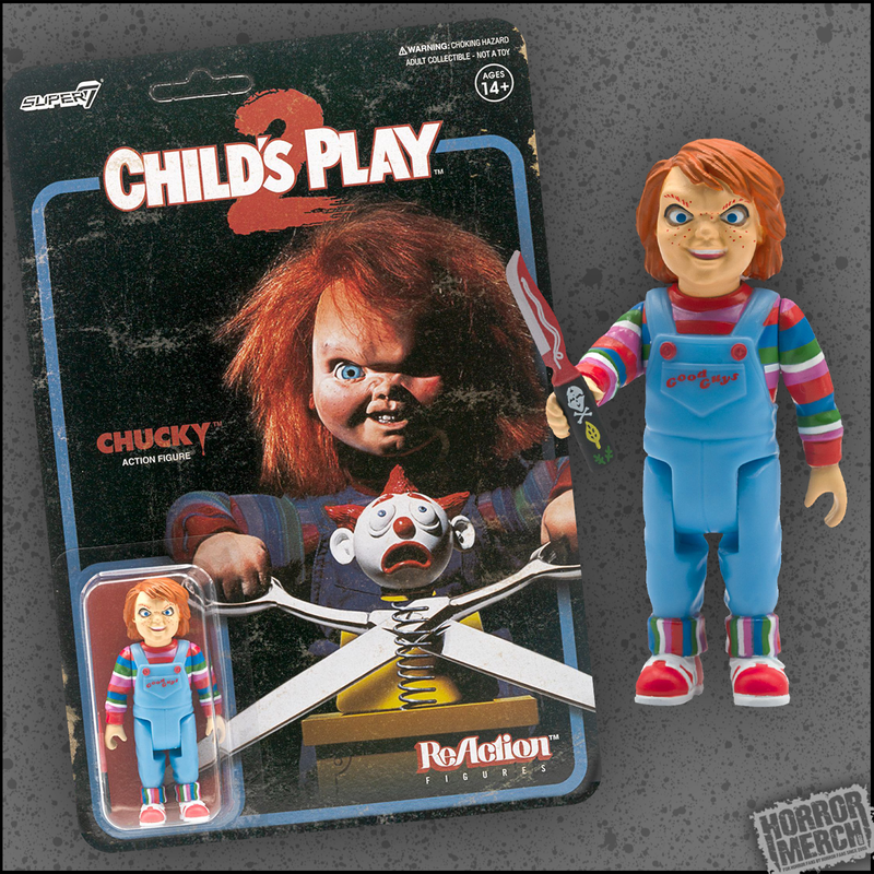 Childs Play - Evil Chucky Retro 3.75 Inch Scale [Figure] - Pre-Order