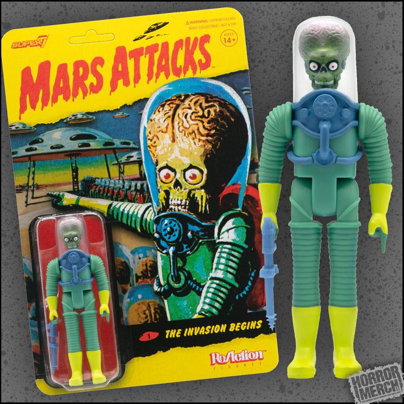 Mars Attacks - Alien Soldier 3.75 Inch [Figure]