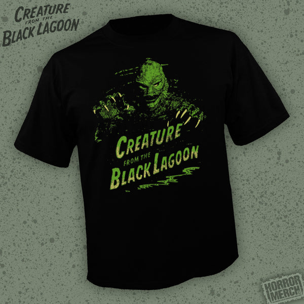 Creature From The Black Lagoon (Logo) [Mens Shirt]