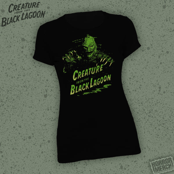 Creature From The Black Lagoon (Logo) [Womens Shirt] - Pre-Order