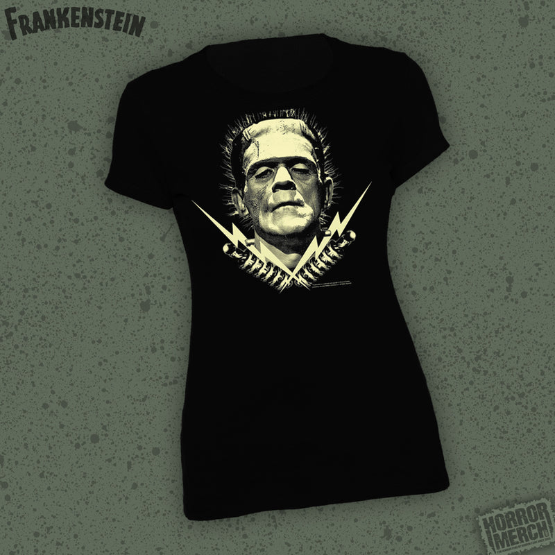 Frankenstein - Bolts [Womens Shirt] - Pre-Order