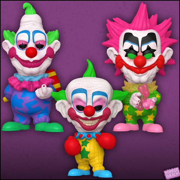 Killer Klowns - Shorty / Jumbo / Spikey  (3 Figure Set) [Figure] - Pre-Order