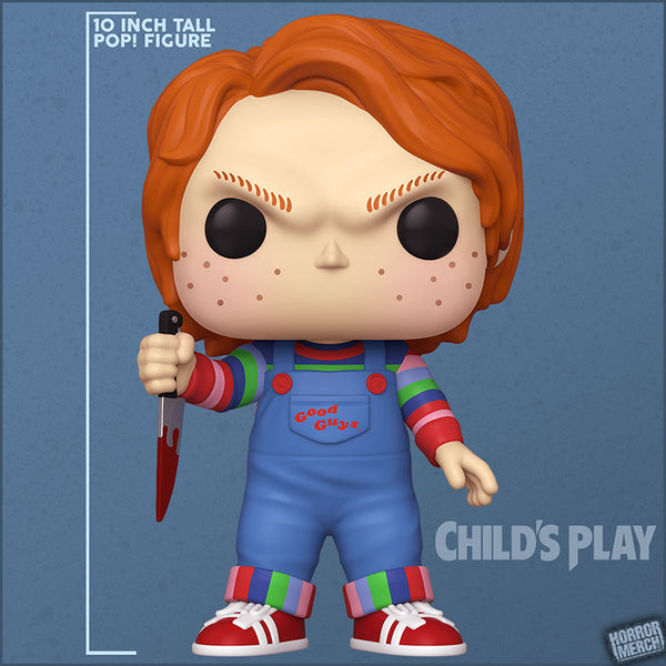 Child's Play - Chucky / 10 Inch Supersize Pop [Figure] - Pre-Order