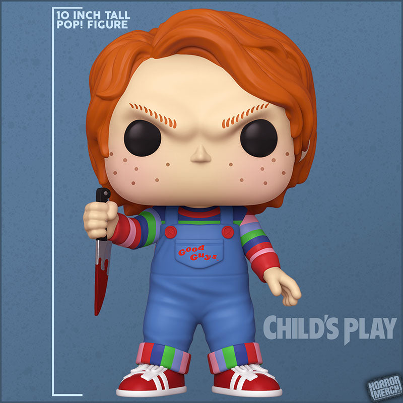 Child's Play - Chucky - 10 Inch Supersize Pop [Figure]