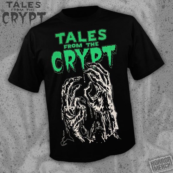 Tales From The Crypt - Hands (Glows In The Dark) [Guys Shirt]