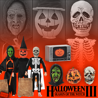 Halloween III - Season Of The Witch (Cloth) 3 Pack [Figure] - Pre-Order