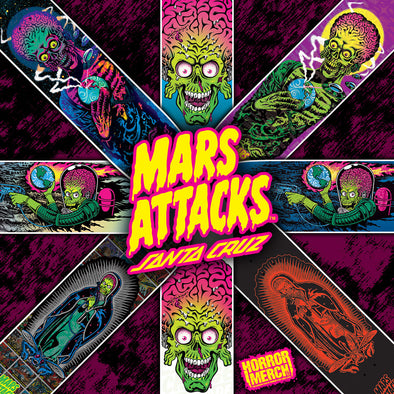 '- Mars Attacks [Skateboard]