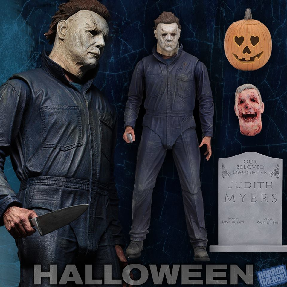 Halloween Ultimate Michael Myers 2018 Figure Horrormerch Com