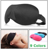 Contoured 3D Blackout Sleep Eye Mask