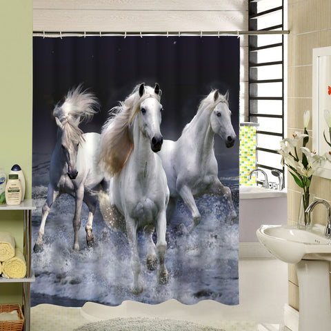 Horse Shower Curtain