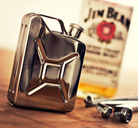 Stainless Steel Jerry Can Hip Flask