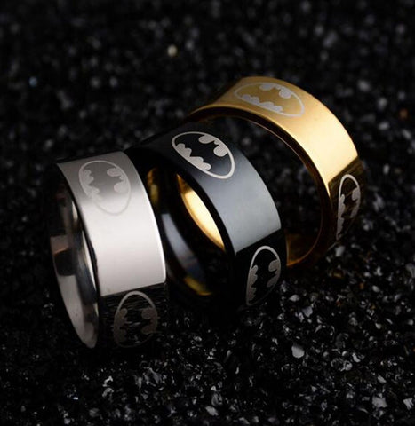 Unisex Bat Design Ring