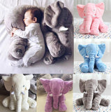 Cute Baby Elephant Soft Plush Pillow