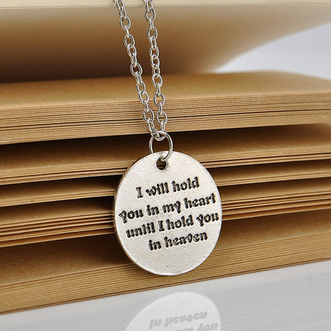 I Will Hold You In My Heart Necklace