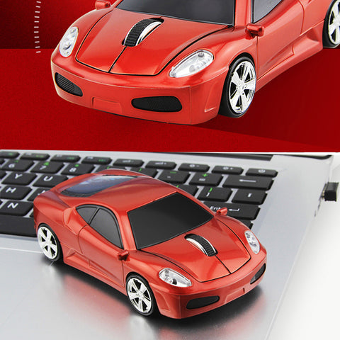 Wireless Sports Car Mouse